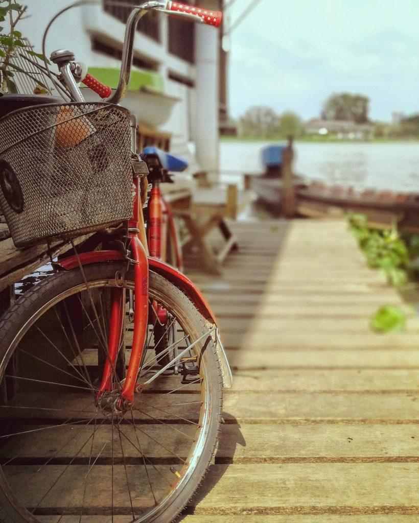 דרך מצויינת להתנייד באי הינה באמצעות אופניים. צילום: צליל וגן