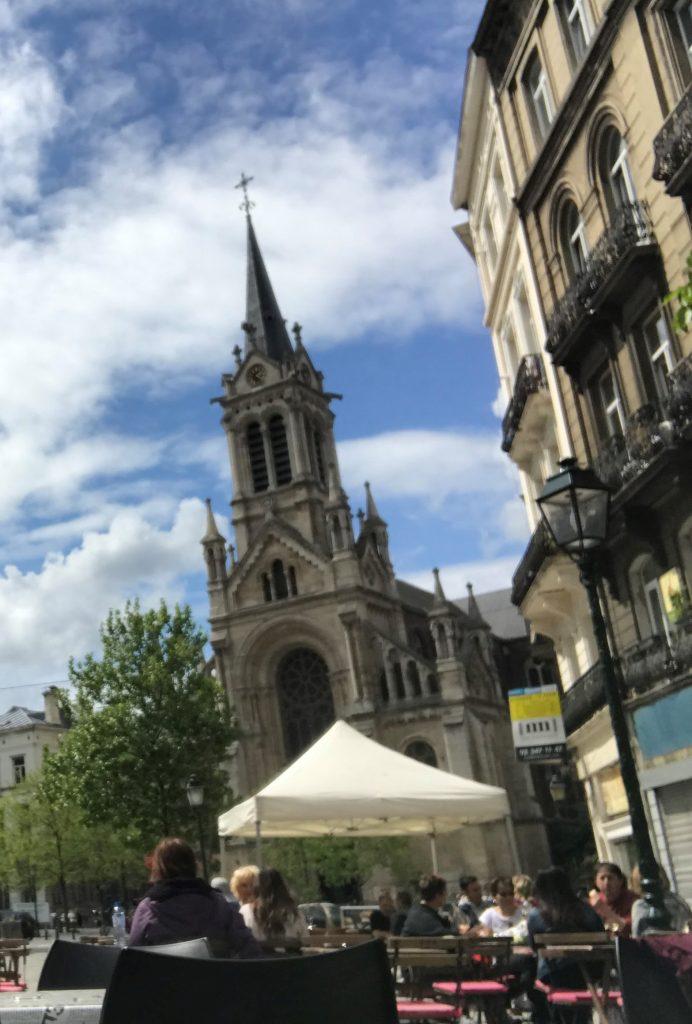 האווירה בשכונת סנט ז'יל Saint Gilles. צילום: מעיין מורלי