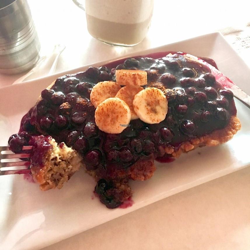 הפרנץ' טוסט של מסעדת Sacred Chow. צילום מתוך האתר: happycow.net