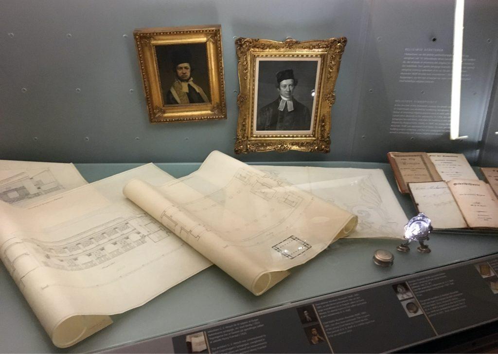 תכנית בית הכנסת במוזיאון היהודי. צילום: יונת גרנות
