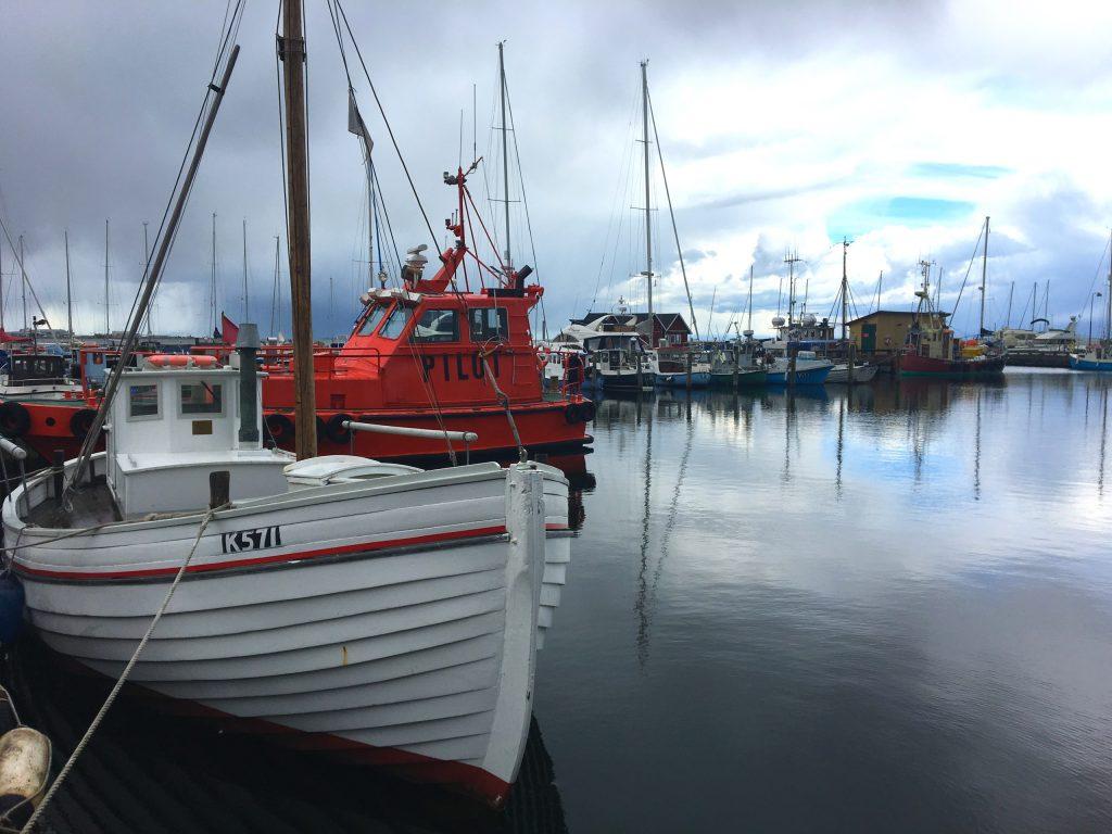 סירת הדייגים אליזבת K571 שהעבירה יהודים מדרגור לשבדיה. צילום: יונת גרנות