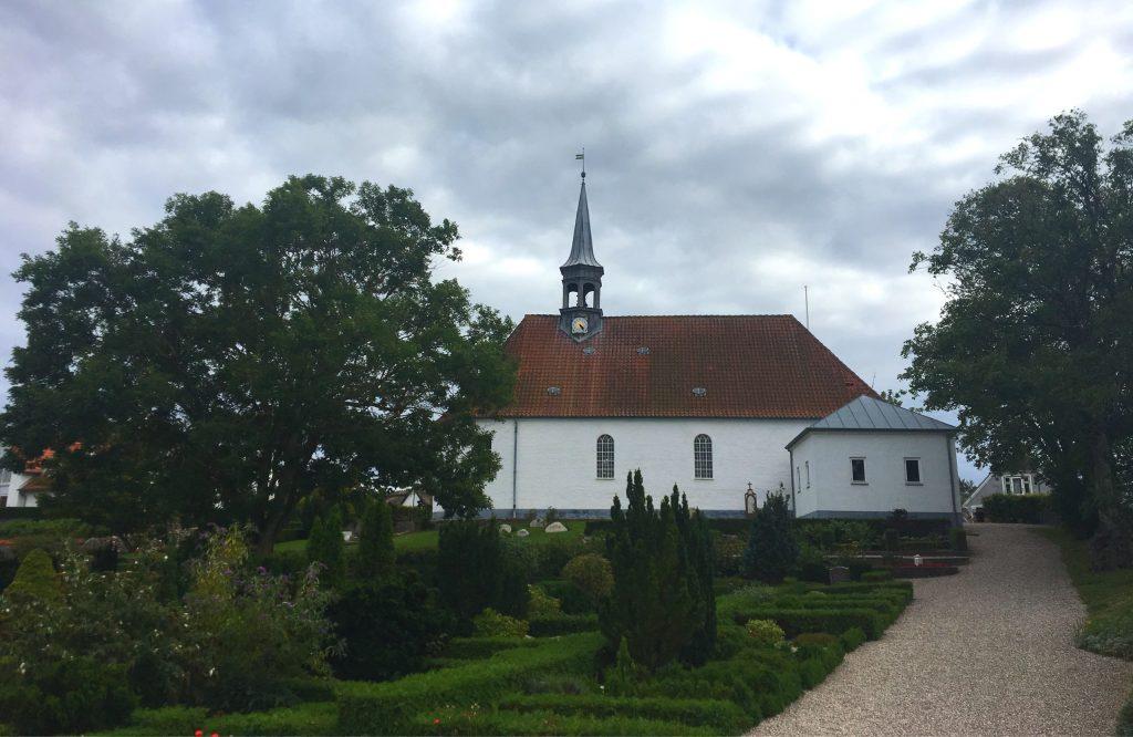 הכנסייה בה הוחבאו יהודי גילליי. צילום: יונת גרנות