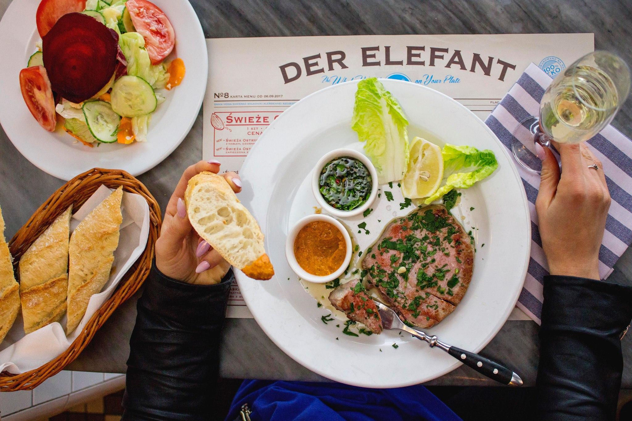 דר אלאפנט, מסעדה ברמה. צילום מתוך עמוד הפייסבוק
