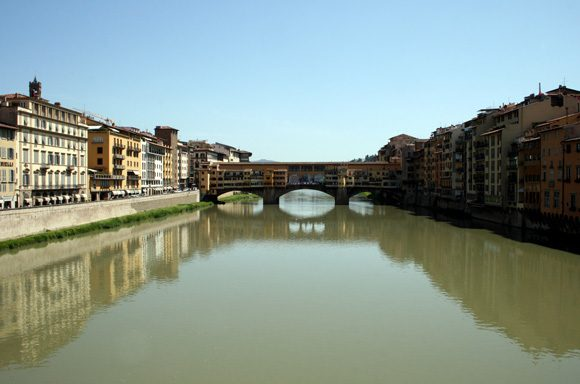 Ponte Vecchio - הגשר הישן בפירנצה