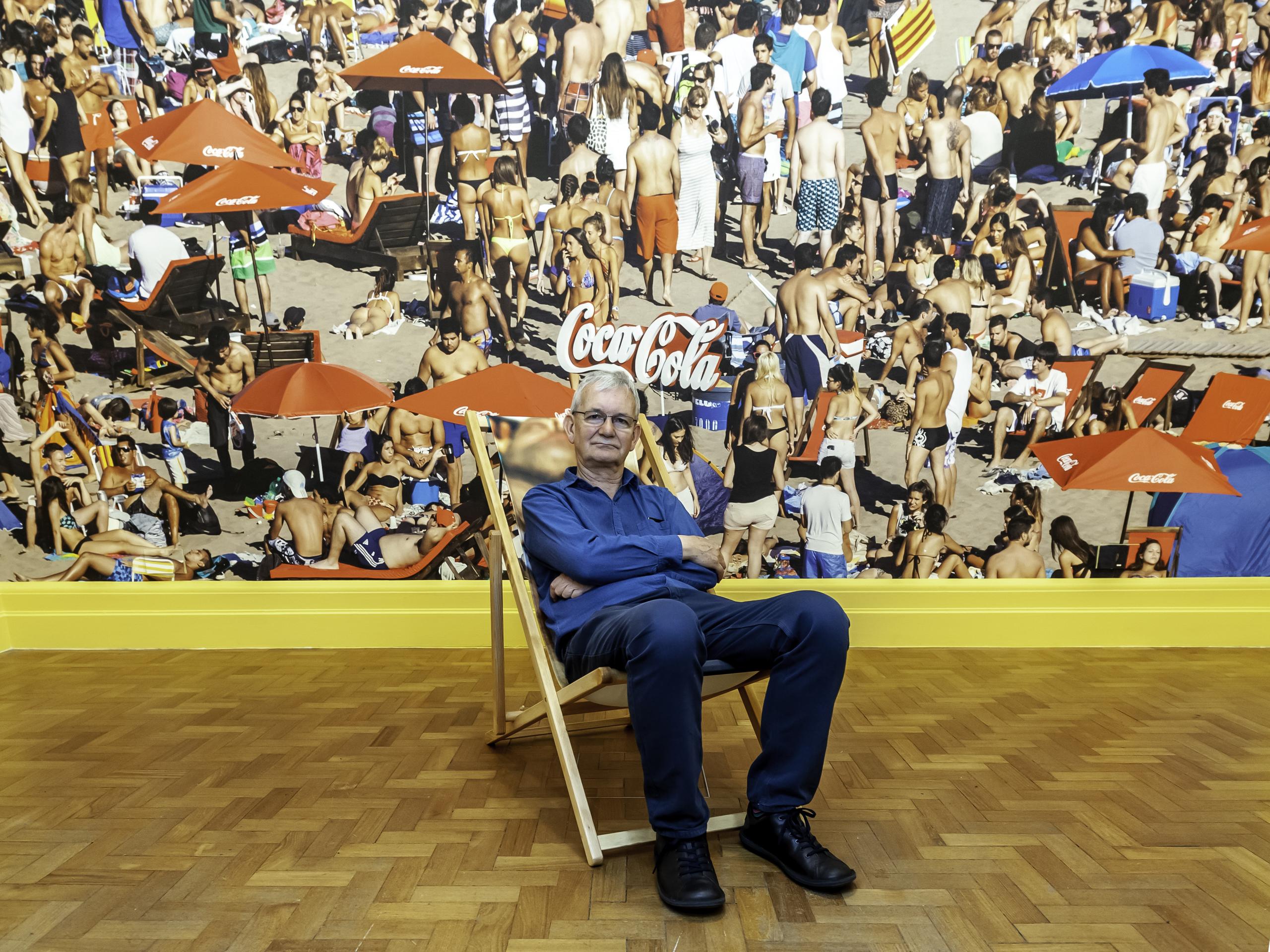 תערוכת אומנות חדשה בלונדון לצלם מרטין פר