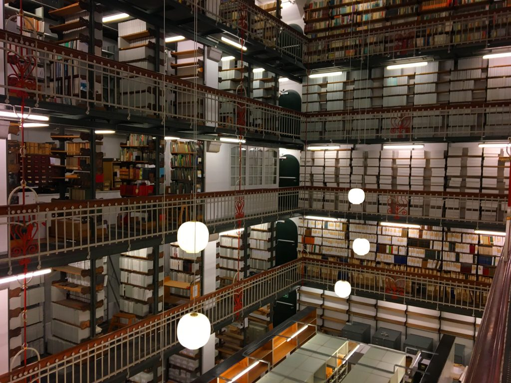 הספריה הלאומית של דנמרק בקופנהגן. צילום: יונת גרנות
