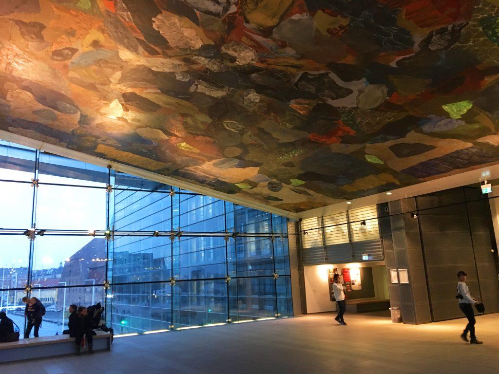 ציור תקרה יפיפה. צילום: יונת גרנות