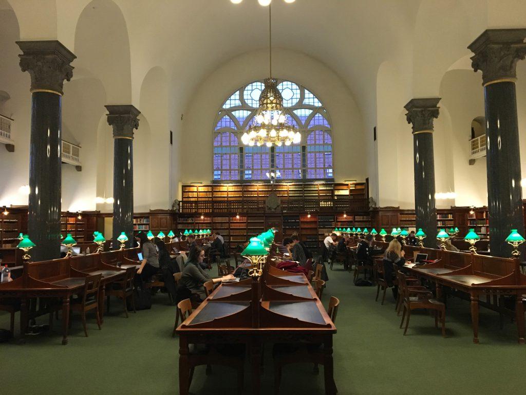 הספריה הלאומית של דנמרק. צילום: יונת גרנות