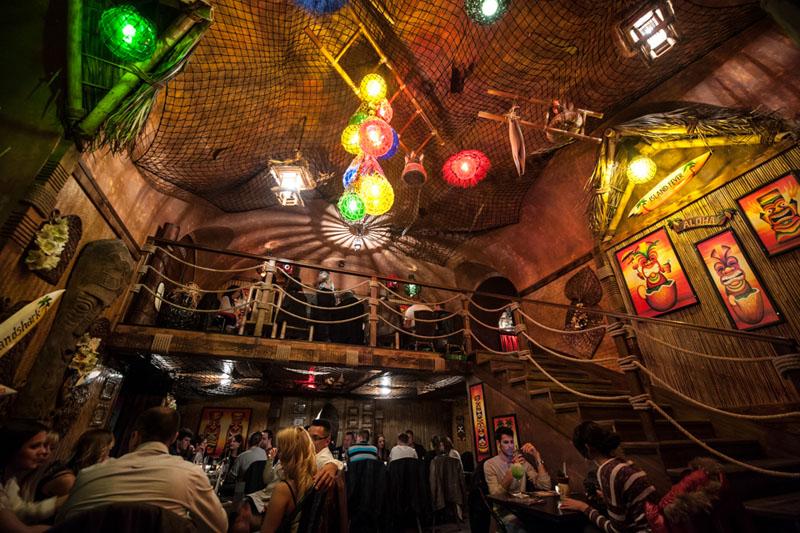 Rumpus Tiki Bar. צילום מתוך rumpus.hu